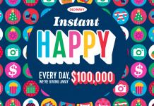 Old Navy 100K Giveaway (OldNavy.com/RedeemHappy)