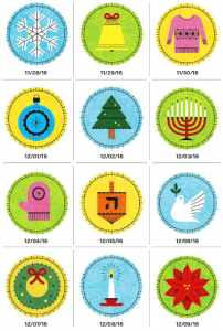 12-Day Give-O-way Icons