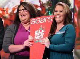 Sears Secret Santa Sweepstakes Wheel Of Fortune