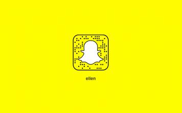 Ellen's Snapchat Secret Code