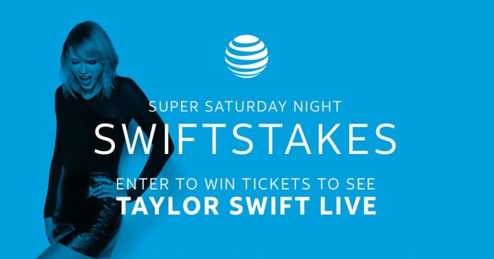AT&T Super Saturday Night Sweepstakes (ATTSwiftstakes.com)