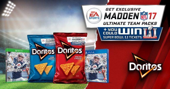 Doritos Madden 17 Sweepstakes (DoritosSBLegend.com)