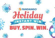 Fandango Holiday Instant Win 2016