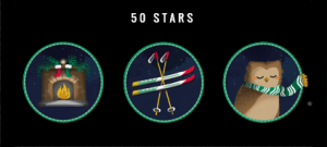 50 Bonus Stars Game Pieces