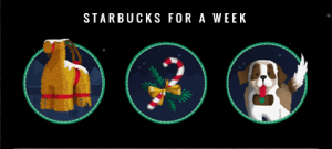 Starbucks For A Week Game Pieces