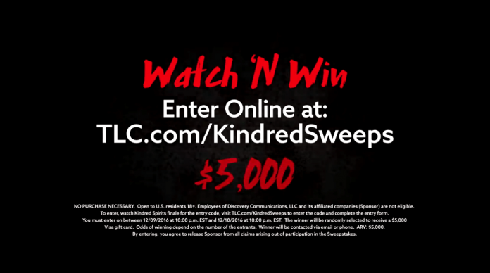 TLC Kindred Sweeps Secret Code