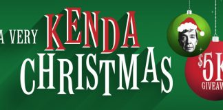 Very Kenda Christmas Giveaway 2016