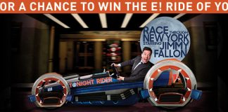 E! Ride of Your Life Sweepstakes (EOnline.com/RideOfYourLife)