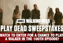 AMC The Walking Dead Play Dead Sweepstakes Code Words