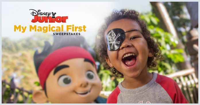 Disney Junior My Magical First Sweepstakes 2017 (Disney.com/MyMagicalFirstSweeps)