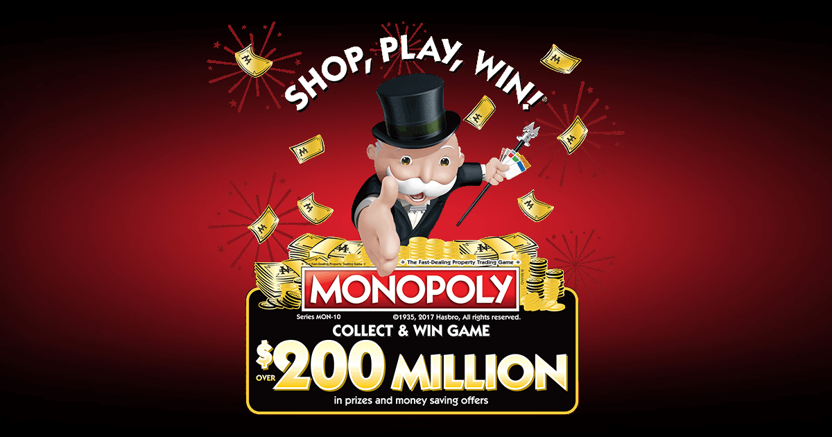 Monopoly Game At Safeway 2017 (PlayMonopoly.us)