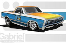 Powernation Sweepstakes Gabriel HiJackers 50th Anniversary El Camino
