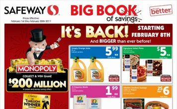 Safeway's Big Book of Savings Ad
