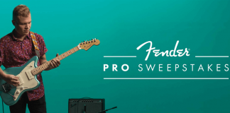 Fender Pro Sweepstakes