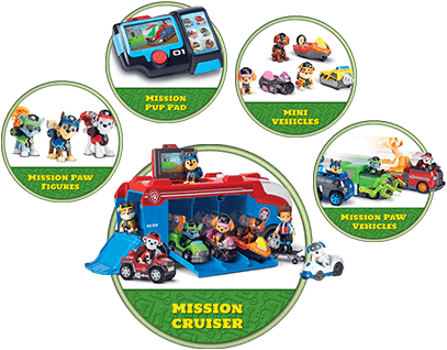 paw patrol mission paw products