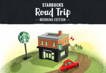 Starbucks Road Trip Game 2017 (StarbucksRoadTrip.ca)