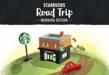 Starbucks Road Trip Game 2017 (StarbucksRoadTrip.ca)
