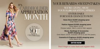Younkers Your Rewards Sweepstakes 2018 (Younkers.com/Thanks)