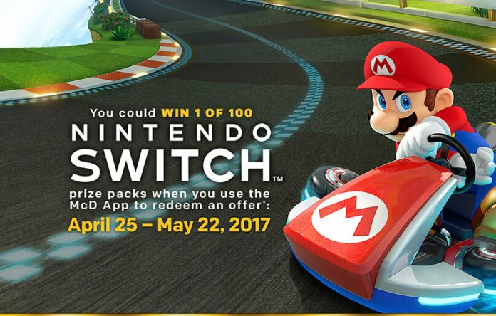 McDonald's Nintendo Switch Giveaway