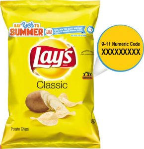 Lay's Say Yes To Summer Bag Code