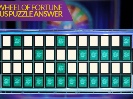 Wheel Of Fortune Bonus Puzzle Answer