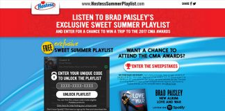 Hostess Summer Playlist Sweepstakes