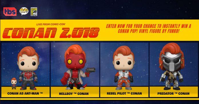 Conan Funko Pop Giveaway