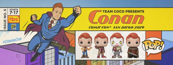 Here Is Tonight's Conan Pop Code 2019