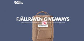 Fjällräven Kånken Backpack Giveaway 2017