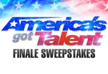 America's Got Talent Season 12 Finale Sweepstakes
