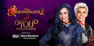 Disney's Descendants 2 And You Sweepstakes