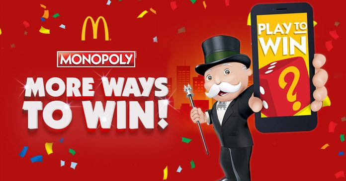 Mcdonalds monopoly nz prizes for kids
