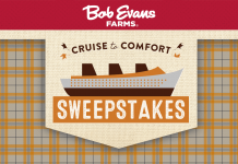 2017 Bob Evans Cruise To Comfort Sweepstakes
