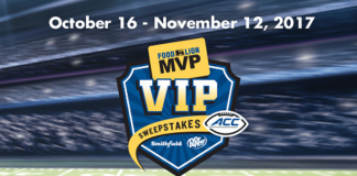 2017 Food Lion MVP VIP Sweepstakes