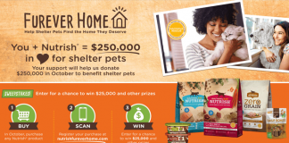2017 Rachael Ray Nutrish Furever Home Sweepstakes