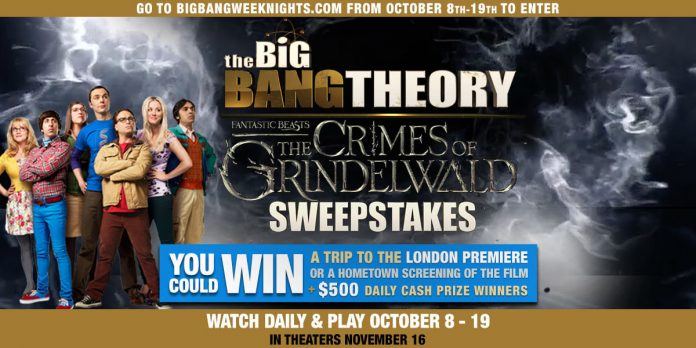 Big Bang Theory Fan-tastic Sweepstakes
