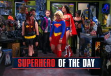 Big Bang Theory Superhero Of The Day