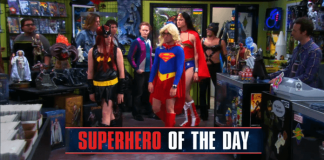 Big Bang Theory Superhero Of The Day