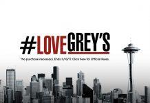 ABC's Love Grey's Anatomy Sweepstakes