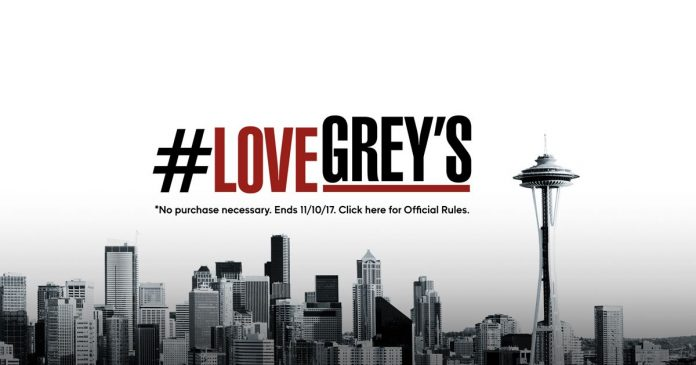 ABC's Love Grey's Anatomy Sweepstakes