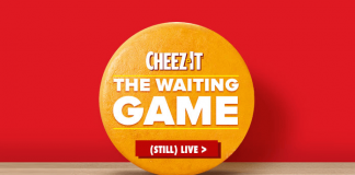 Cheez-It Waiting Game Sweepstakes