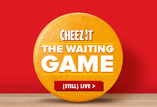 Cheez-­It Waiting Game Sweepstakes