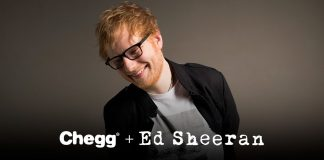 Chegg Ed Sheeran Contest