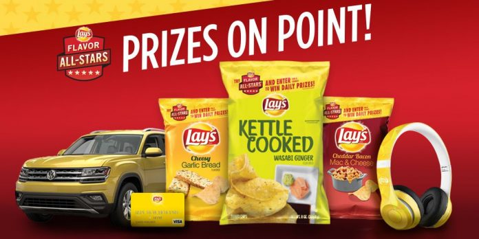 2017 Lay's Flavor All-Stars Sweepstakes