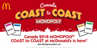 McDonalds Monopoly Canada 2018 Rare Pieces