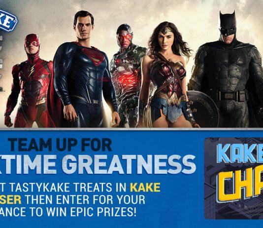 Tastykake Justice League Sweepstakes