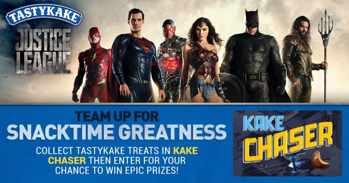 Tastykake Justice League Sweepstakes