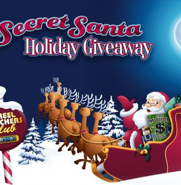 2017 Wheel Of Fortune Secret Santa Sweepstakes