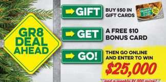 2017 Quaker Steak and Lube $25,000 Holiday Giveaway