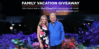 2017 Wheel Of Fortune Family Vacation Giveaway